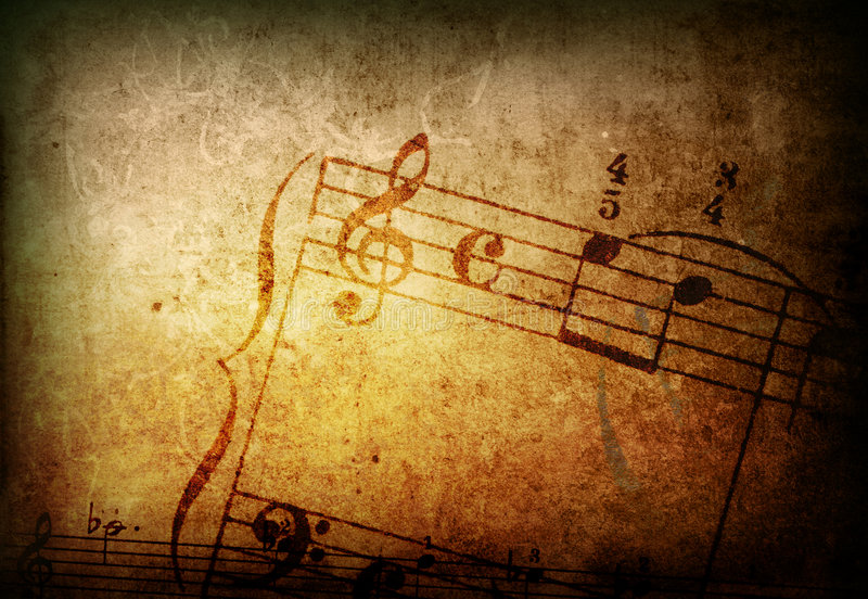 Download Grunge Melody Textures And Backgrounds Stock Illustration - Illustration: 8301830