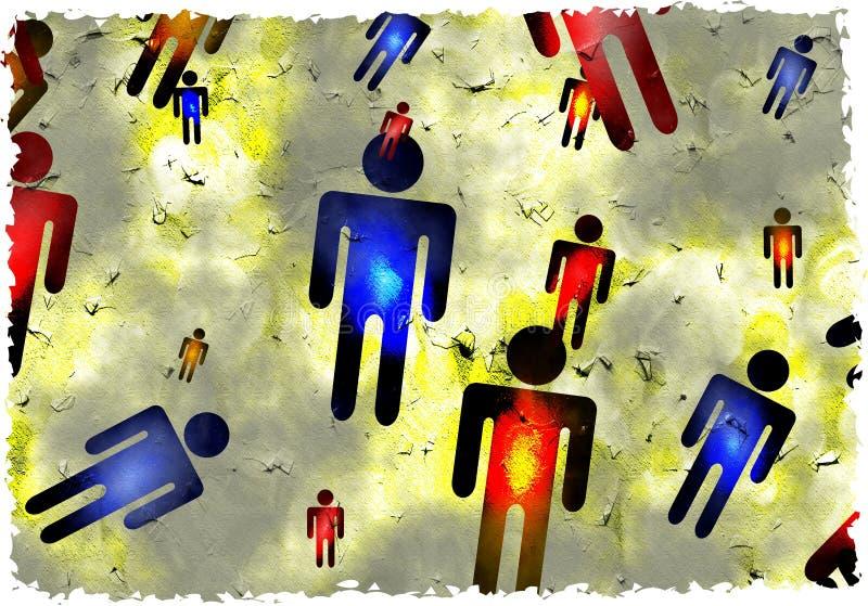 Download Grunge men stock illustration. Image of patterns, parchment - 2912928