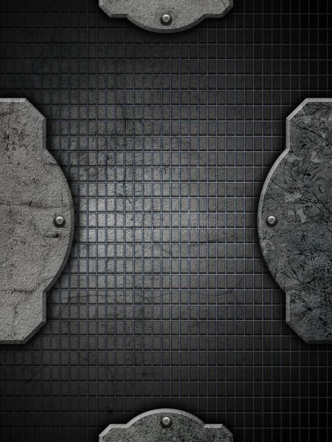 Download Grunge Metal And Concrete Background Stock Illustration - Image: 22853218