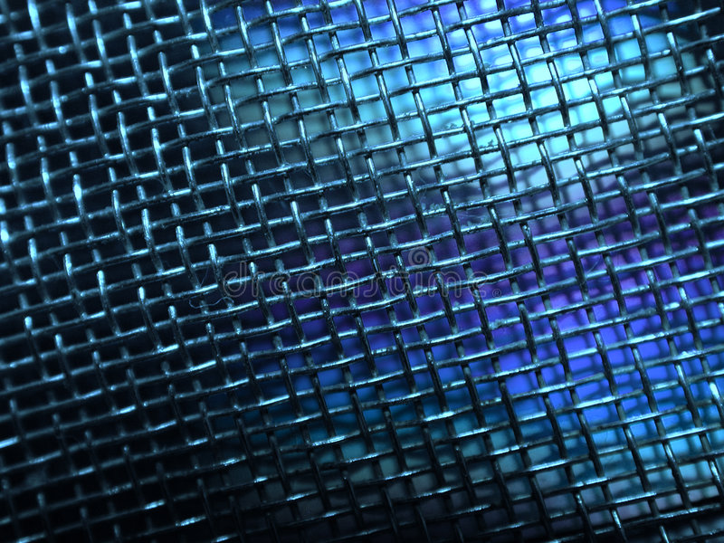 Grunge Metalldraht-Ineinander greifen-Foto lizenzfreie abbildung