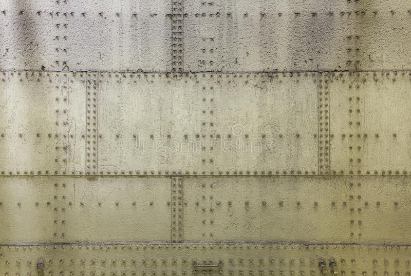 Grunge metalu ściana obrazy stock