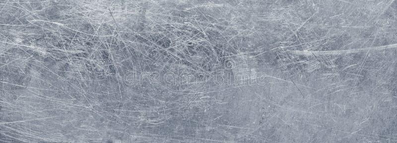 Grunge metalu tło, tekstura stal nierdzewna panoramiczny vi obrazy stock