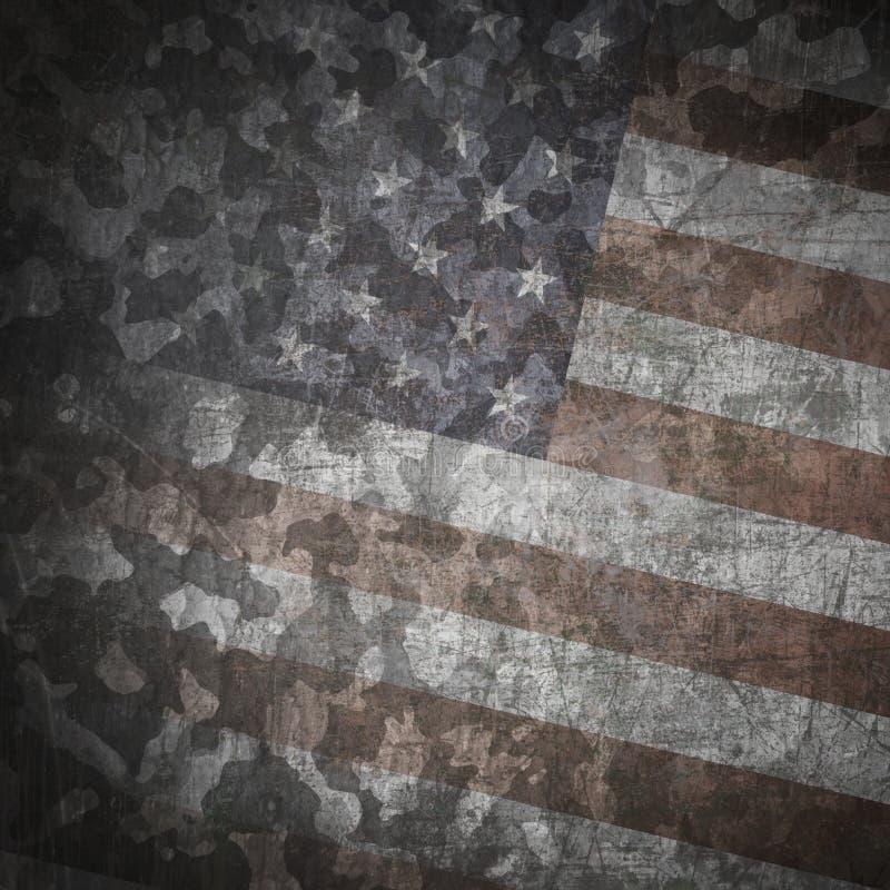 Grunge militaire achtergrond vector illustratie