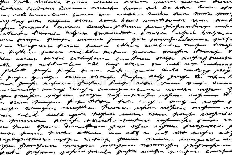 Grunge monochromatyczny tło ręcznie pisany doodles imituje pisać zdjęcie stock