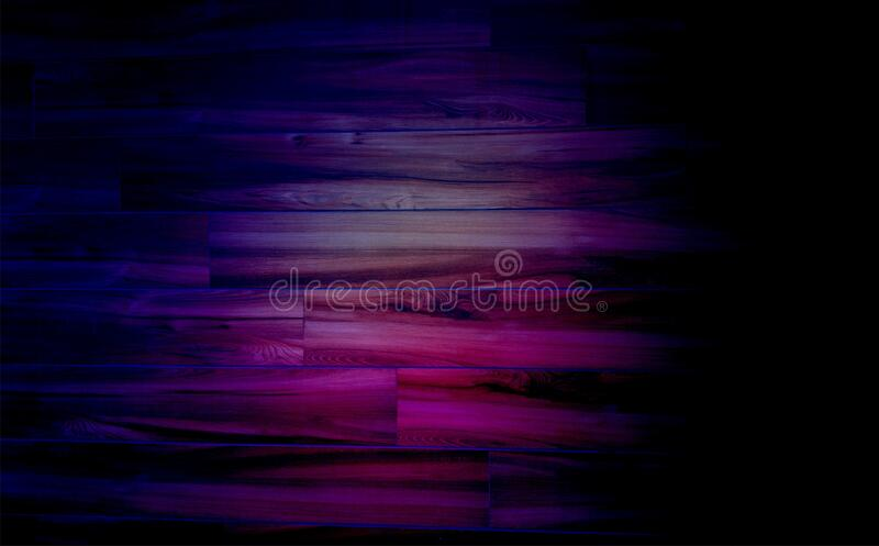 Grunge multicolored lighting effect on wood texture of concrete floor background for creation abstract.  stock photos