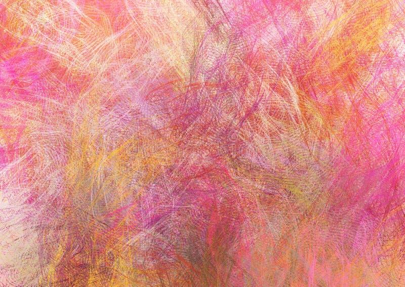 Grunge Multicoloured illustrazione vettoriale
