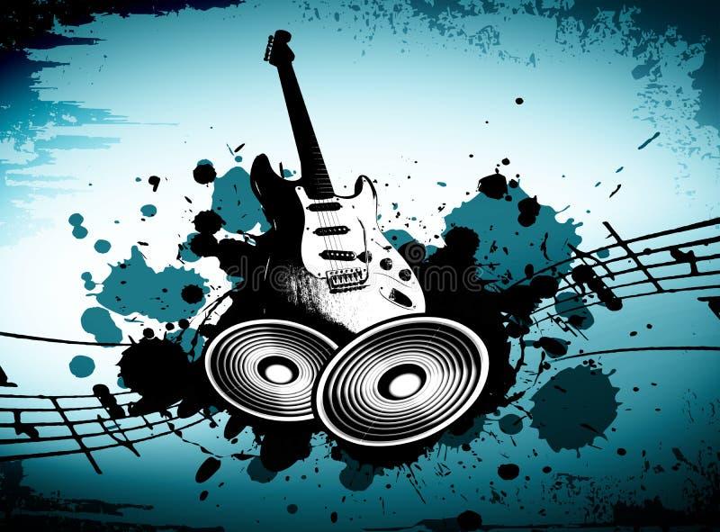 Grunge Music royalty free stock photo