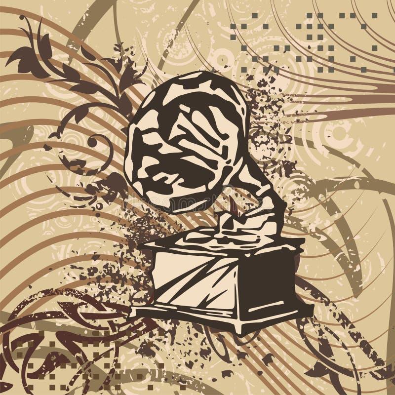 Download Grunge Music Background stock illustration. Image of audio - 14851599