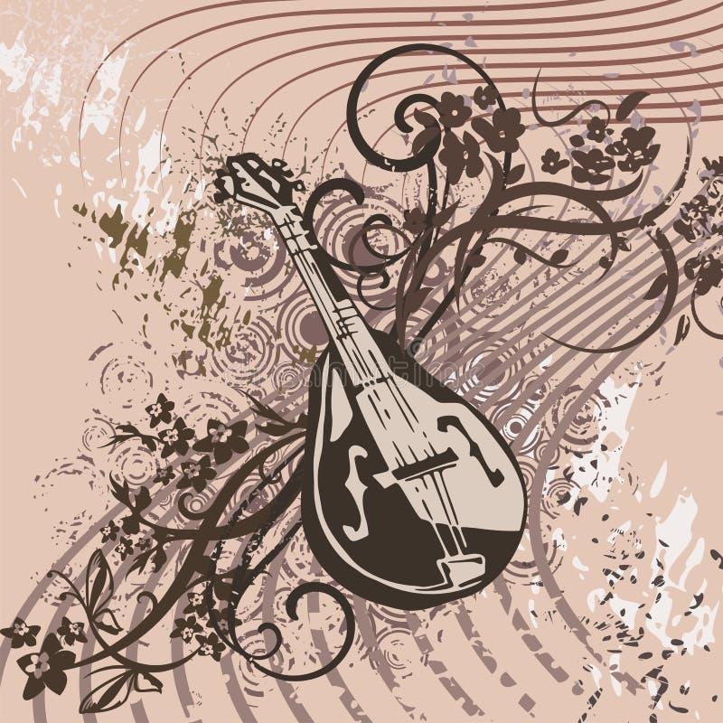 Download Grunge Music Instrument Background Stock Illustration - Image: 14851559