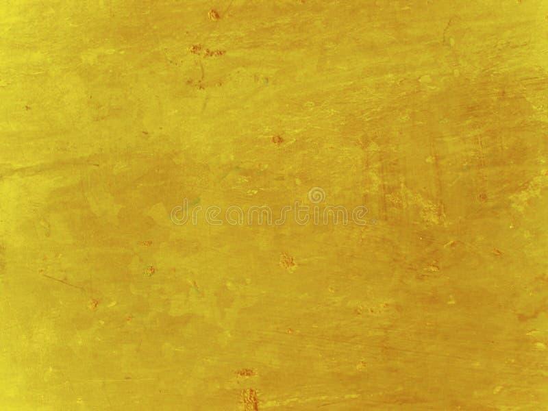 Grunge mustard yellow background vector illustration