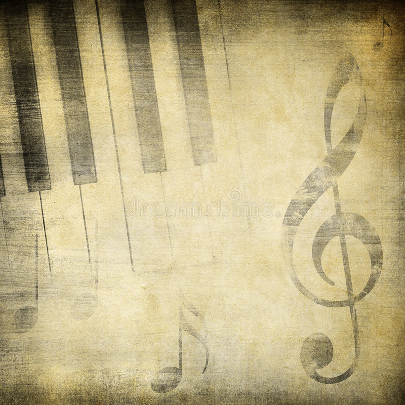 Grunge muzyka ilustracja wektor