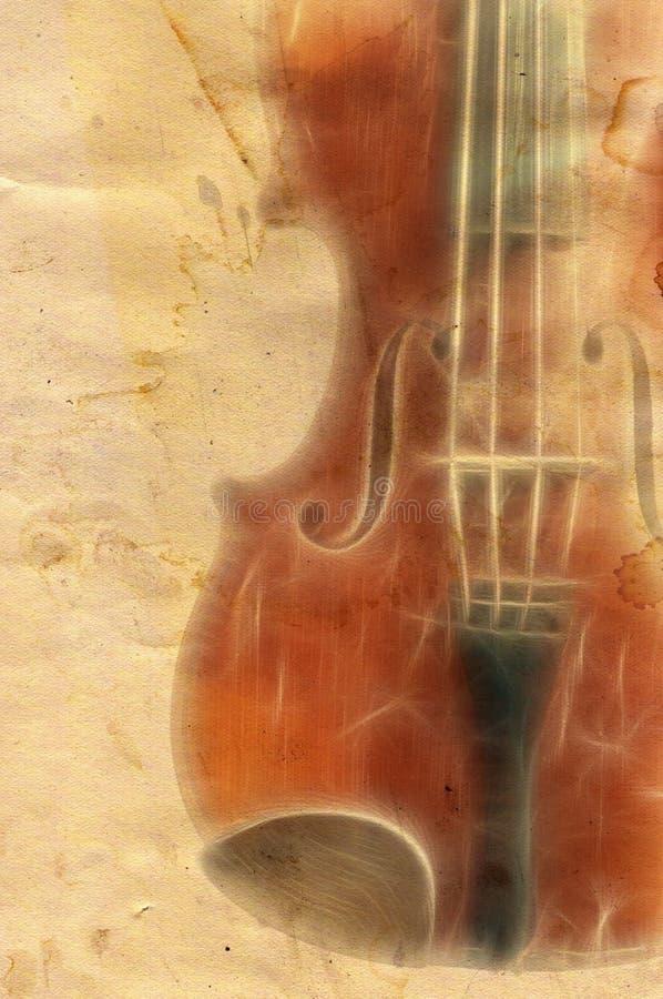 Grunge muzyki backgrouns ilustracja wektor