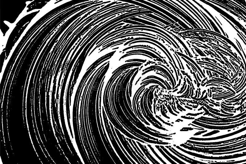 Grunge mydlana tekstura ilustracji