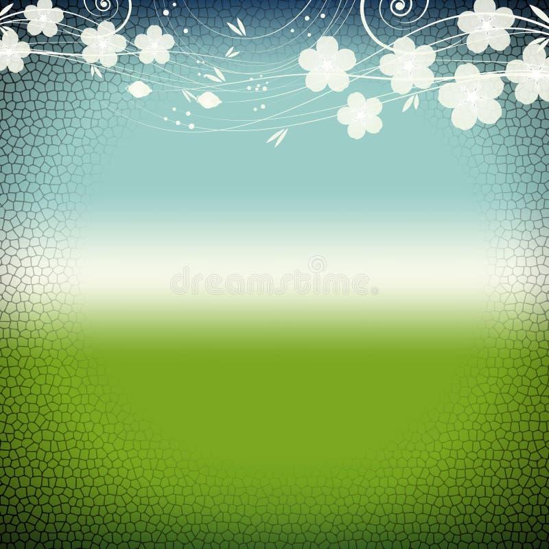 Grunge nature background vector illustration