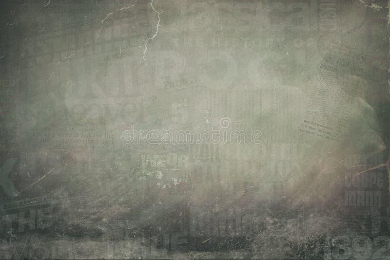 Grunge Newspaper Collage Background Stock Photo Image Of Scrapbook
