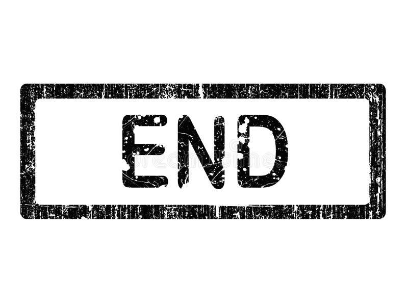 Grunge Office Stamp - END