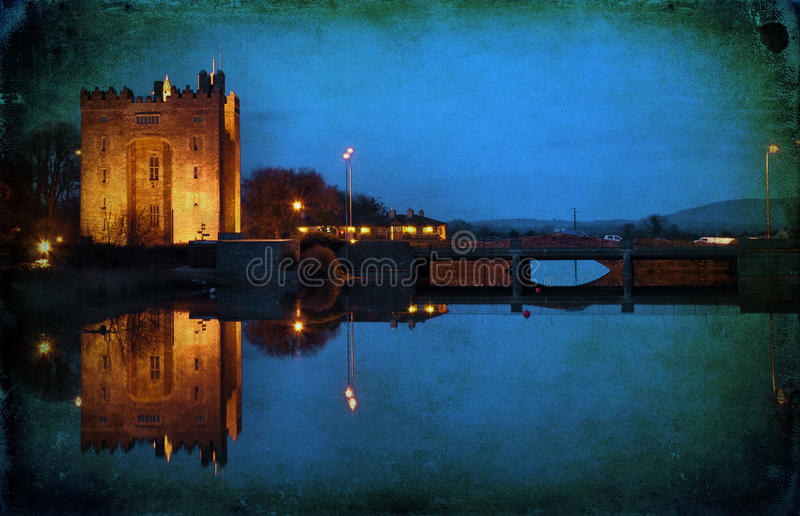 Download Grunge Old Ancient Irish Castle In Ireland Stock Photo - Image: 12265186