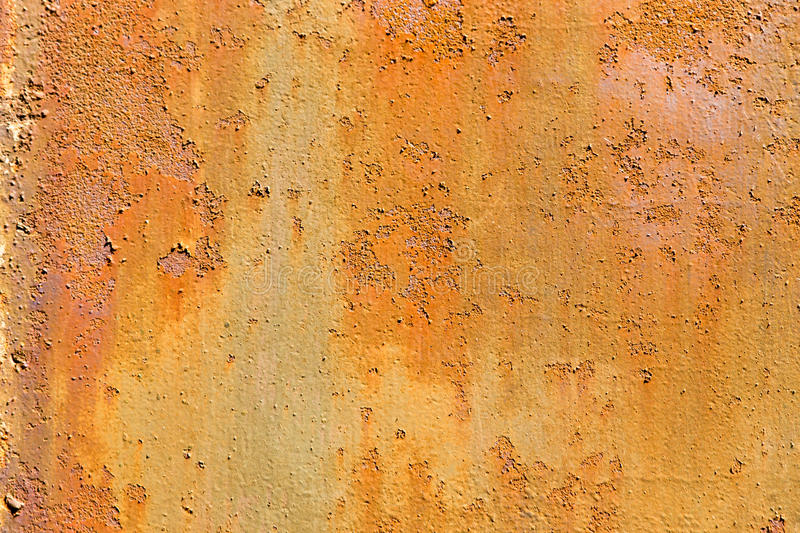 Grunge old rusty metal wall royalty free stock photography