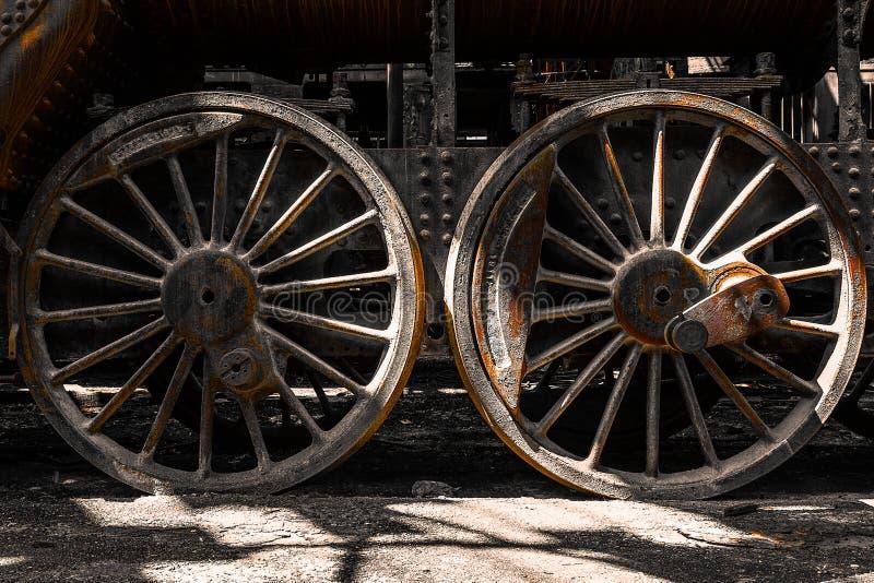 Download Grunge Old Steam Locomotive Wheels Stock Image - Image: 32081443