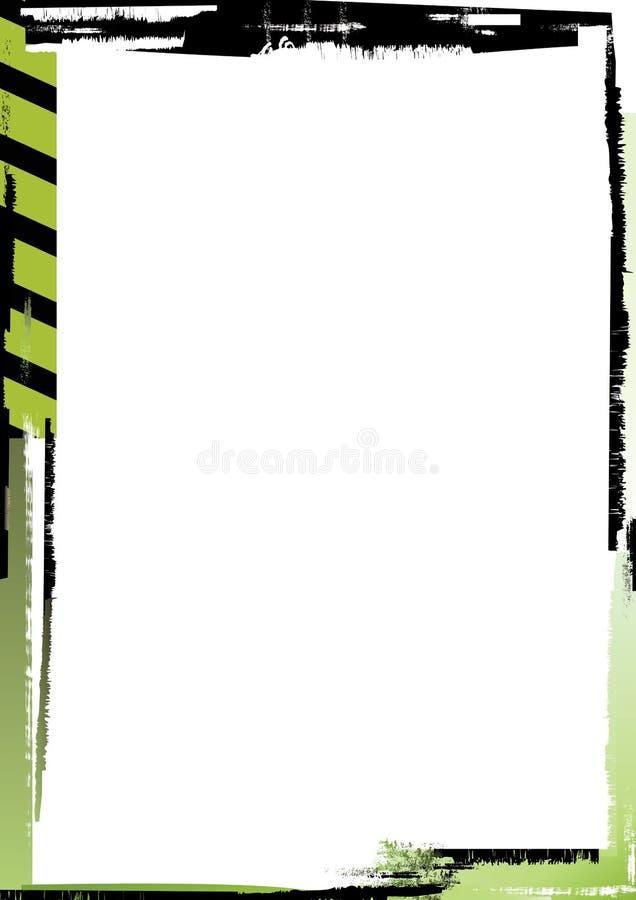 grunge ontwerpachtergrond 3/5 stock illustratie