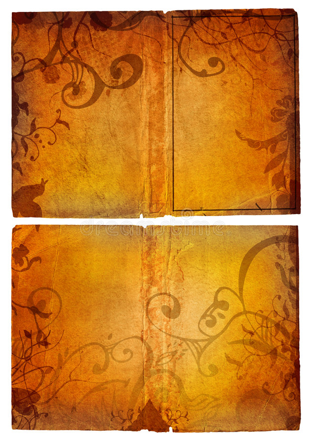 Download Grunge open book pages stock photo. Image of abstract - 3018476