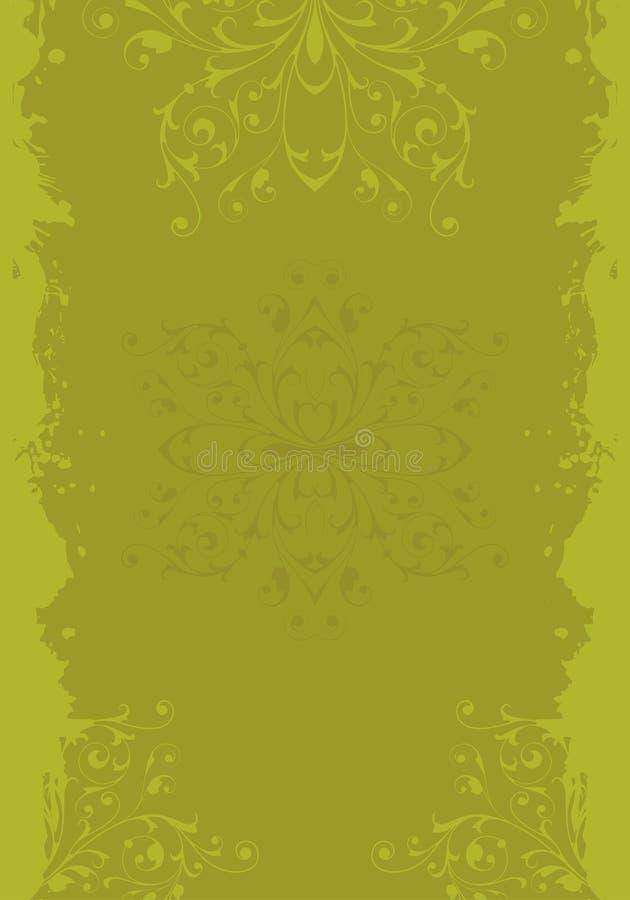 grunge ornament royalty ilustracja