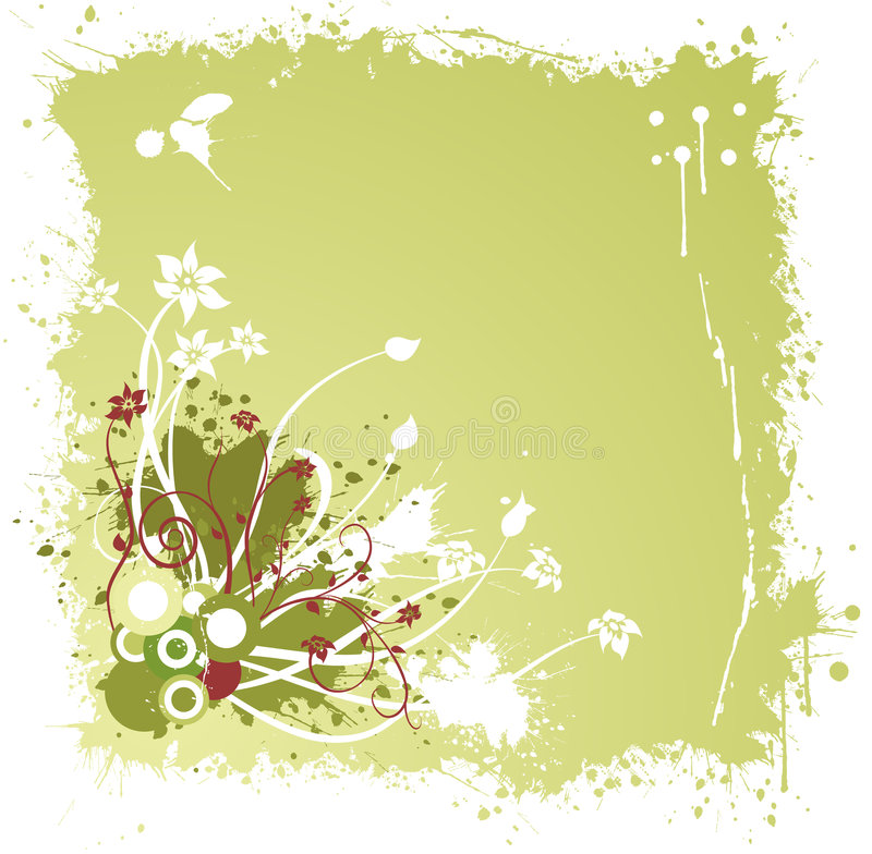 grunge ornament ilustracji