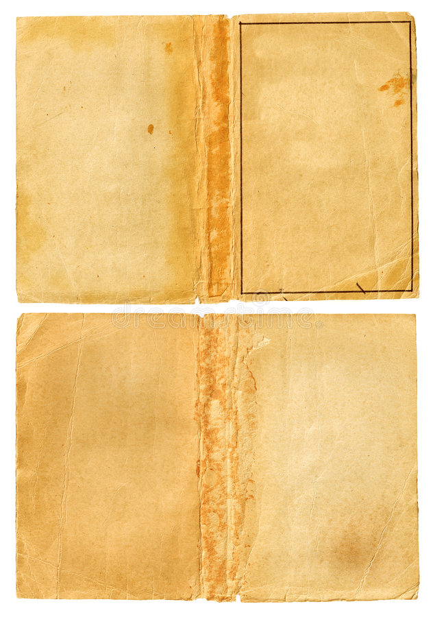 grunge otwartych strony książki zdjęcia royalty free