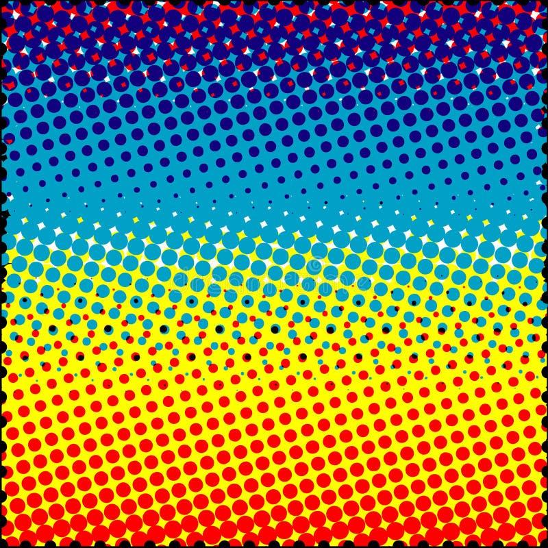 Grunge ou fundo do disco. ilustração stock