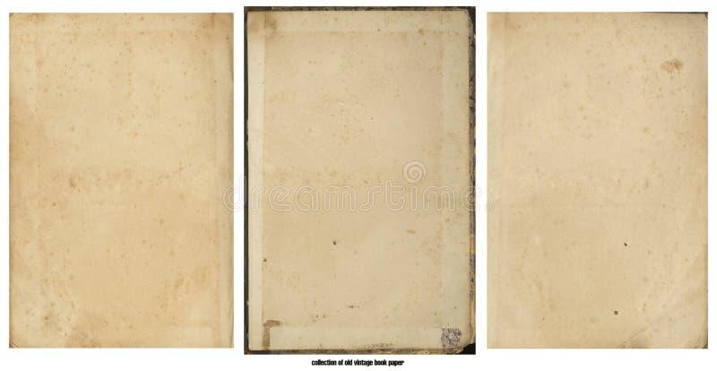 Grunge oud document voor schatkaart of wijnoogst stock afbeelding