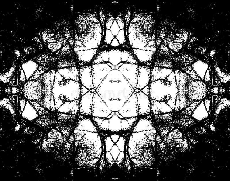 Grunge oval ilustração do vetor