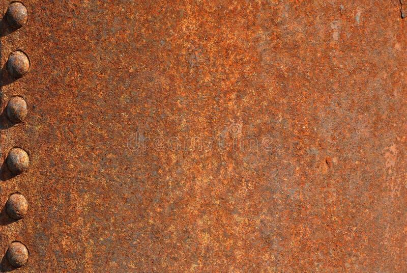 Grunge oxidado do fundo fotografia de stock