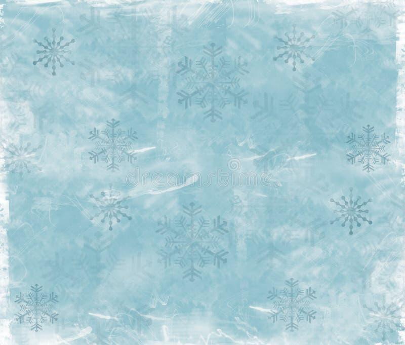 grunge płatki śniegu zdjęcie royalty free