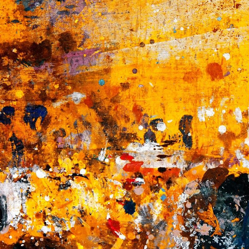 Grunge paint background stock illustration