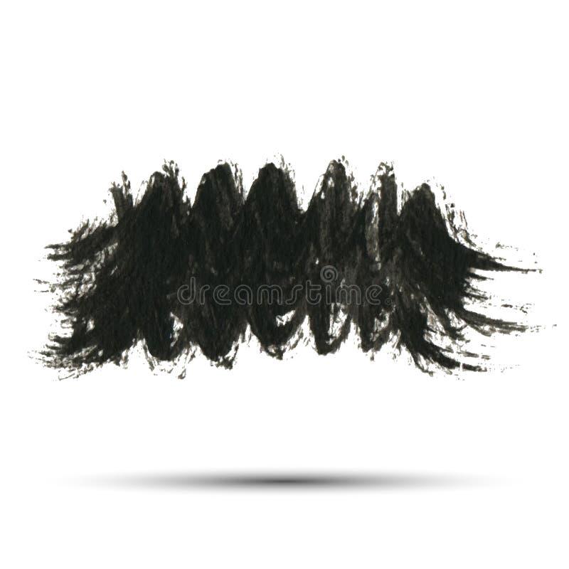 Grunge paint background, vector illustration for your design stock illustration