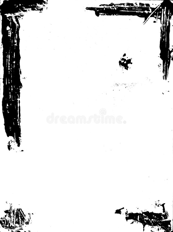 Grunge paper. In black and white vector illustration