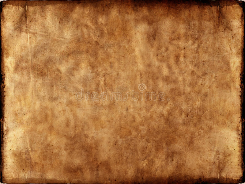 Grunge paper. 3d rendered old paper texture royalty free illustration