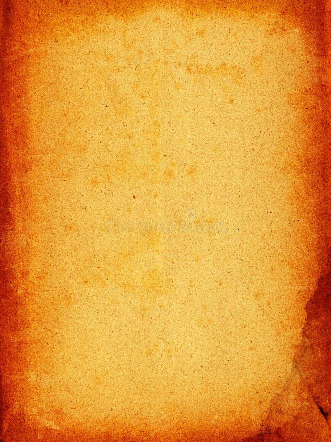 Grunge paper. Grunge frame design of an old paper royalty free illustration