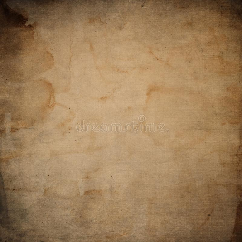 Grunge paper background. Old, vintage texture vector illustration