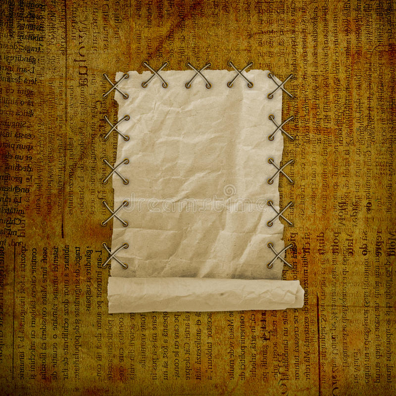 Download Grunge Paper Design In Scrapbooking Style Stock Illustration - Image: 23300103