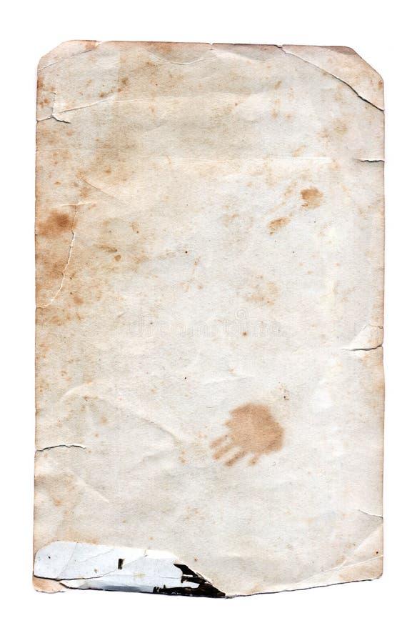 Grunge Paper - High resolution stock photo