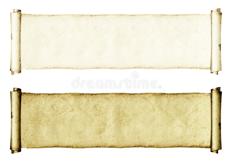 Download Grunge Paper Rolls stock illustration. Image of dried - 1914772
