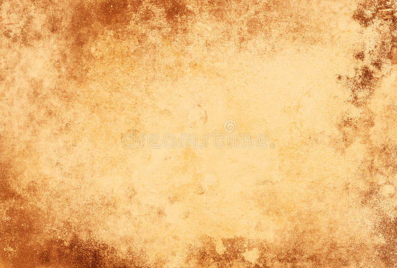 Grunge Paper Texture Light Brown Frame Stock Illustration ...