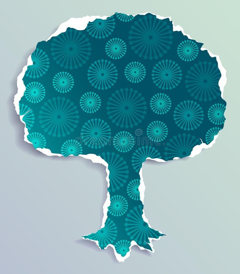 Free Grunge Paper Tree Royalty Free Stock Image - 13920666