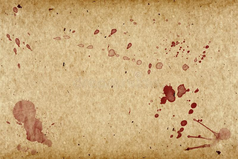 Grunge Paper Vintage Whith Blood Stock Photo Image Of