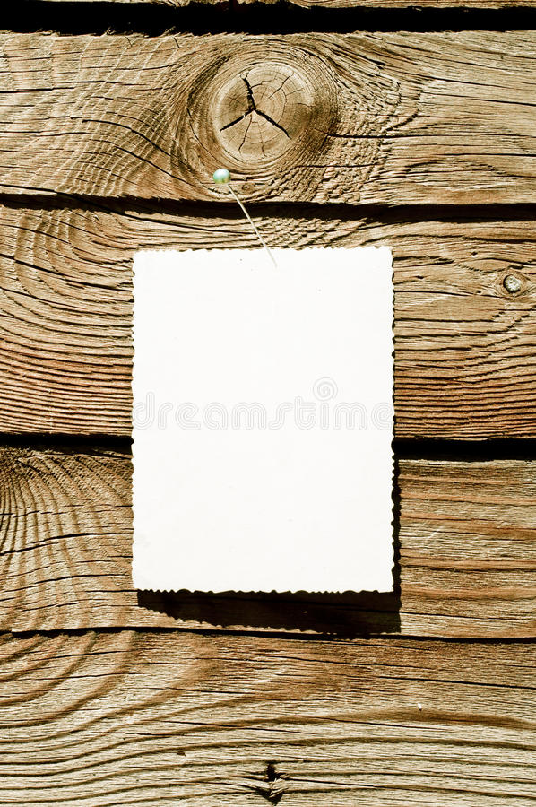 Download Grunge paper on wood plank stock photo. Image of hardwood - 15086180