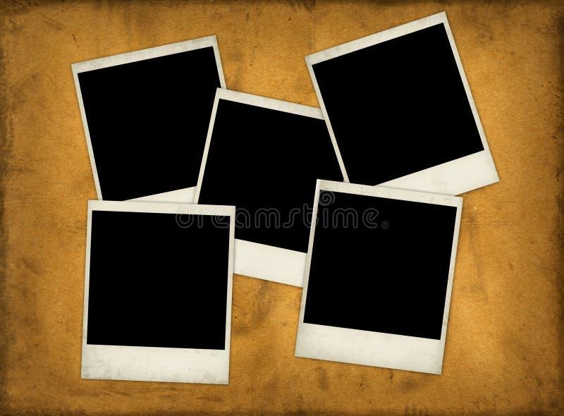 Grunge Papier mit Plättchen vektor abbildung