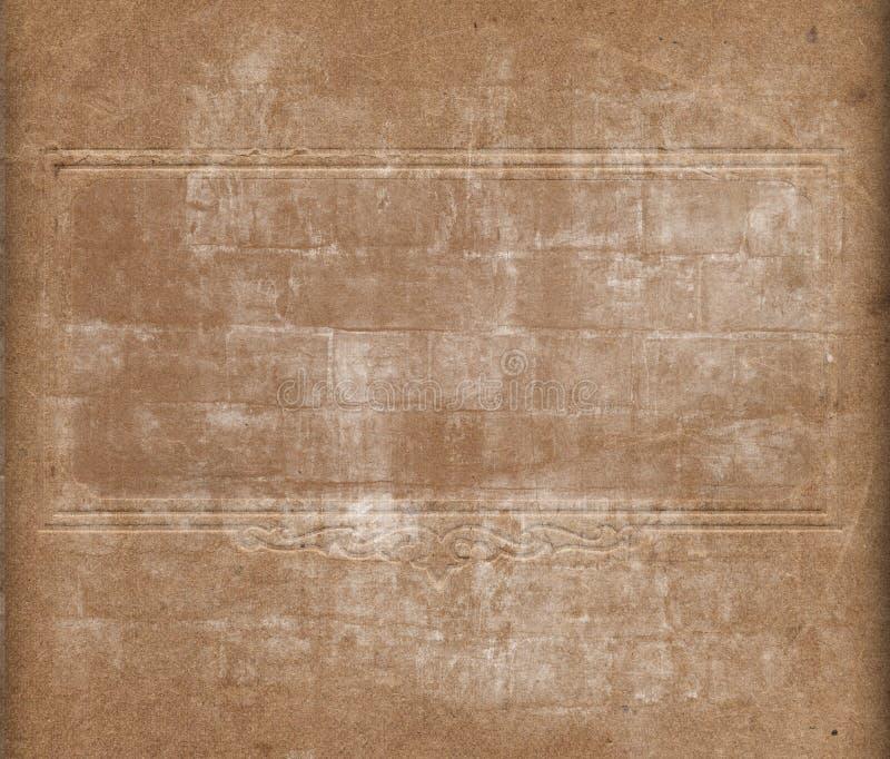 Grunge Papierbeschaffenheit stock abbildung