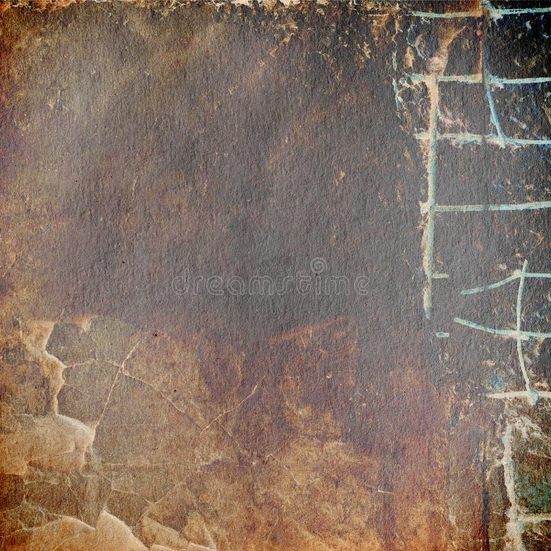 Download Grunge Papierowa Tekstura, Rocznika Tło Ilustracji - Ilustracja złożonej z greaser, aged: 28951349