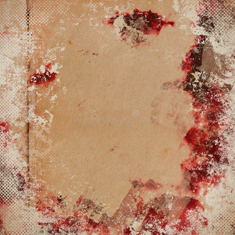 Download Grunge Papierowa Tekstura, Rocznika Tło Ilustracji - Ilustracja złożonej z uszkadzający, greaser: 28951566